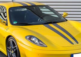 Fahrzeugbeklebung – Ferrari