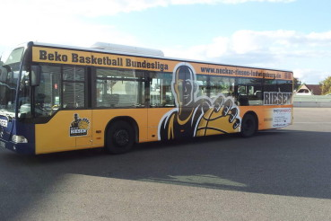 Linienbusbeschriftung
